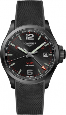 Longines Conquest V.H.P. GMT 43mm L3.728.2.56.9