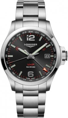 Longines Conquest V.H.P. GMT 43mm L3.728.4.56.6