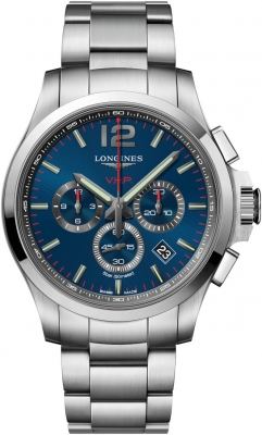 Longines Conquest V.H.P. Chronograph 44mm L3.727.4.96.6