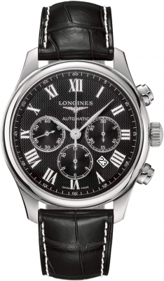 Longines Master Automatic Chronograph 44mm L2.859.4.51.7