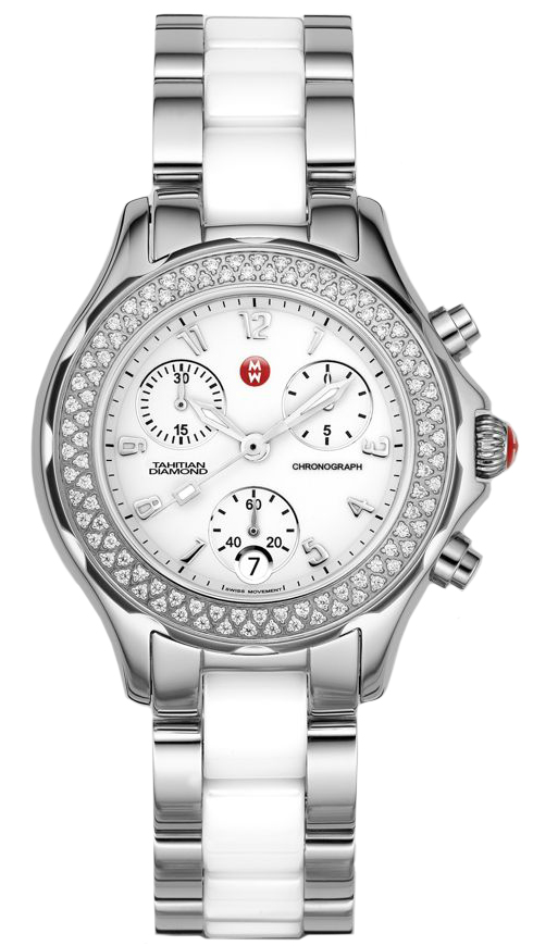 46861115e Availability. Michele Tahitian Ceramic Ladies Watch Model Number:  MWW12C000001