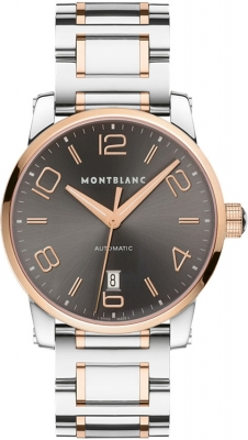 how to change date on mont blanc watch