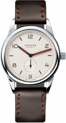 Nomos Glashutte Club Datum 38.5mm 733