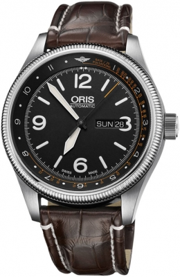 Oris Big Crown ProPilot Day Date 45mm 01 735 7728 4084-Set LS Kroko