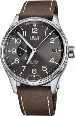 Oris Big Crown ProPilot GMT Small Seconds 45mm 01 748 7710 4063-07 5 22 05FC