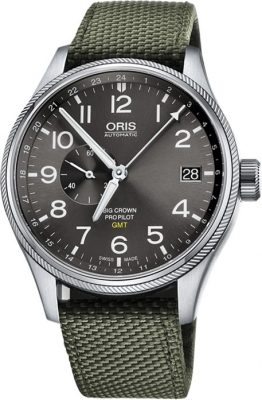 Oris Big Crown ProPilot GMT Small Seconds 45mm 01 748 7710 4063-07 5 22 14FC