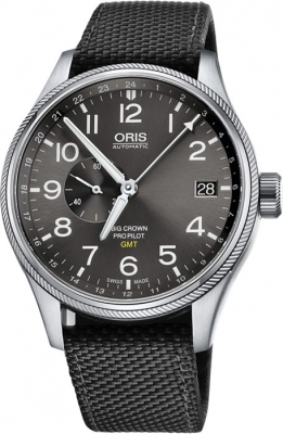 Oris Big Crown ProPilot GMT Small Seconds 45mm 01 748 7710 4063-07 5 22 15FC