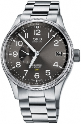 Oris Big Crown ProPilot GMT Small Seconds 45mm 01 748 7710 4063-07 8 22 19