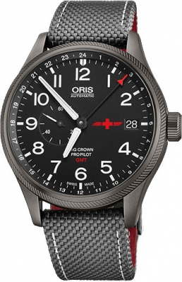 Oris Big Crown ProPilot GMT Small Seconds 45mm 01 748 7710 4284-Set