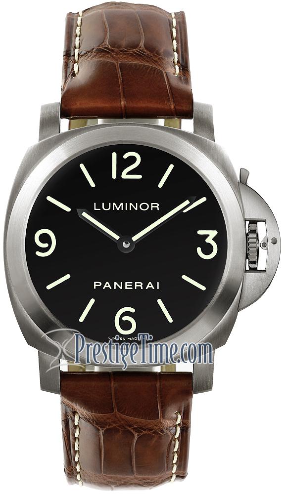 Panerai Luminor Base Mens Watch Pam00176