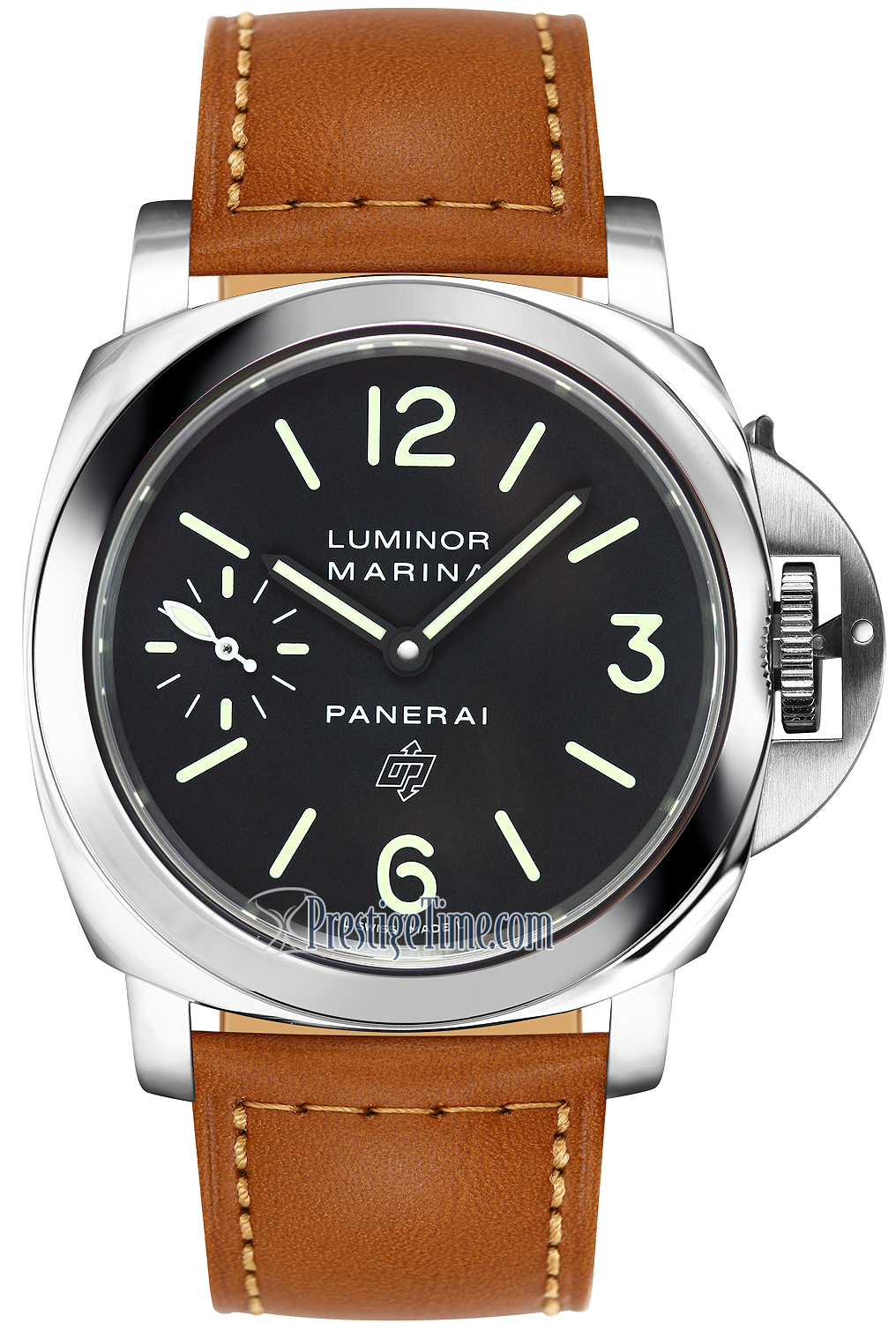 should panerai luminor buy who days acciaio watchpaper gmt wp automatic a watches