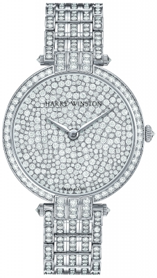 Harry Winston Premier Ladies Quartz 36mm prnqhm36ww004