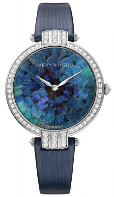 Harry Winston Premier Feathers Ladies Quartz 36mm prnqhm36ww005