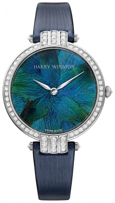 Harry Winston Premier Feathers Ladies Quartz 36mm prnqhm36ww006