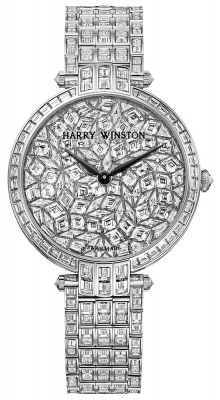 Harry Winston Premier Ladies Quartz 36mm prnqhm36ww014 GLACIER