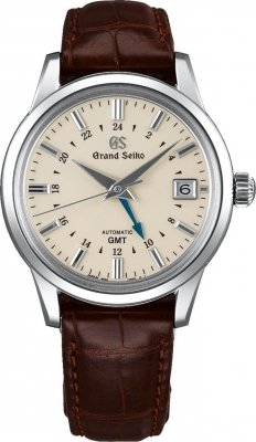 Grand Seiko Elegance Automatic GMT 39.5mm sbgm221