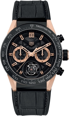 Tag Heuer Carrera Calibre HEUER 02T Tourbillon Chronograph 45mm car5a5y.fc6377