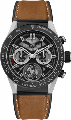 Tag Heuer Carrera Calibre HEUER 02T Tourbillon Chronograph 45mm car5a8y.ft6072