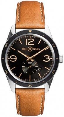 Bell & Ross BR 123 Vintage BRV123-GH-ST/SCA