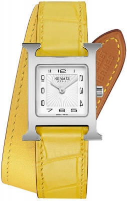 Hermes H Hour Quartz 21mm 053165WW00