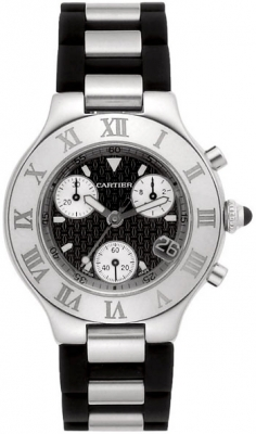 Cartier Must 21 Chronoscaph w10125u2