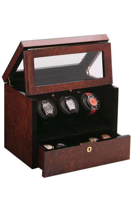 Orbita Watch Winders & Cases w16831 Monaco 3 Watch