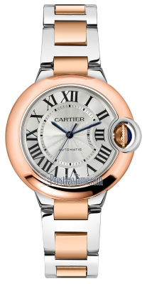 Cartier Ballon Bleu 33mm w2bb0023