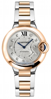 Cartier Ballon Bleu 33mm w3bb0006