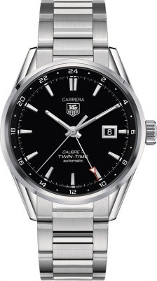 Tag Heuer Carrera Twin Time 41mm war2010.ba0723