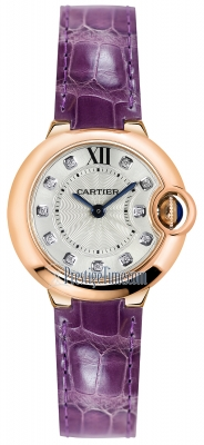 Cartier Ballon Bleu 28mm wjbb0019