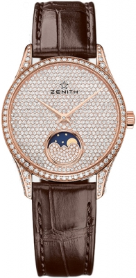 Zenith Elite Ultra Thin Lady Moonphase 33mm 22.2310.690/79.c713