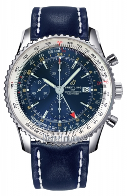 Breitling Navitimer 1 Chronograph GMT 46 a24322121c2x1