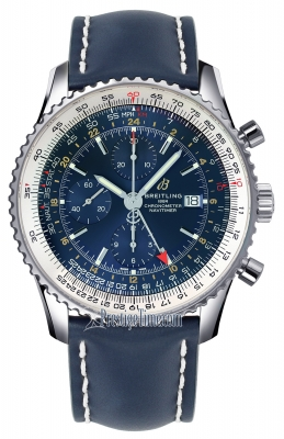 Breitling Navitimer 1 Chronograph GMT 46 a24322121c2x2