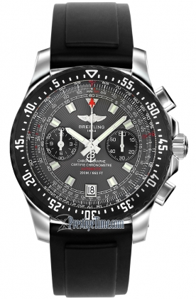 Front view the Breitling Skyracer Raven A2736423/F532