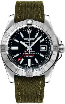 Breitling Avenger II GMT a3239011/bc35/106w