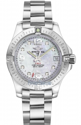 Breitling Colt Lady 36mm a74389111a1a1