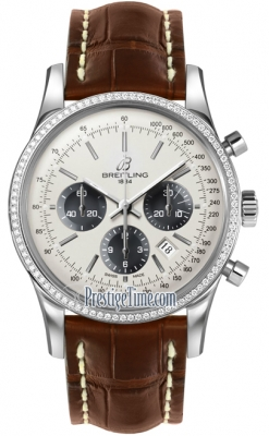 Breitling Transocean Chronograph 43mm ab015253/g724-2ct
