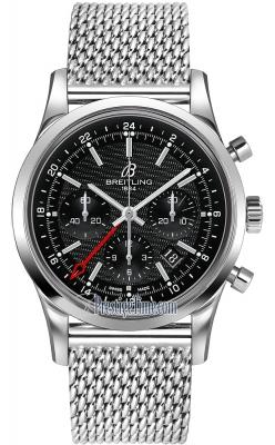 Breitling Transocean Chronograph GMT ab045112/bc67-ss