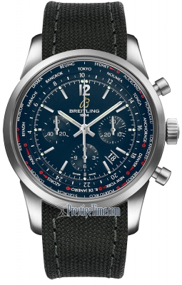 Breitling Transocean Chronograph Unitime Pilot ab0510u9/c879-1ft