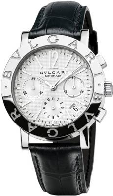 Bulgari BVLGARI BVLGARI Chronograph 38mm bb38wsldch/n