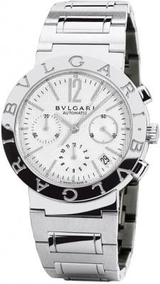 Bulgari BVLGARI BVLGARI Chronograph 38mm bb38wssdch/n