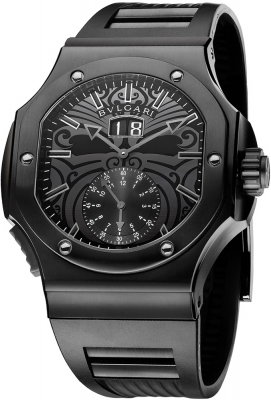 Bulgari Endurer Chronosprint bre56bsbvdchs/ab ALL BLACK