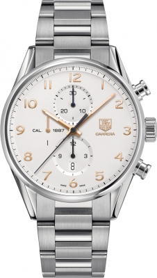 Tag Heuer Carrera Calibre 1887 Automatic Chronograph 43mm car2012.ba0799