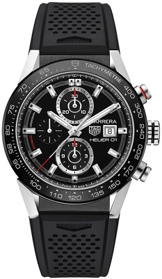 Tag Heuer Carrera Caliber Heuer 01 43mm car201z.ft6046