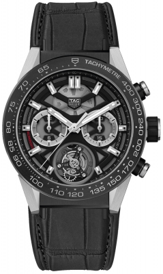 Tag Heuer Carrera Calibre HEUER 02T Tourbillon Chronograph 45mm car5a8y.fc6377
