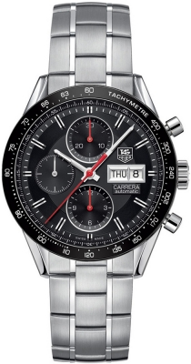 Tag Heuer Carrera Day Date Automatic Chronograph 41mm cv201ah.ba0725