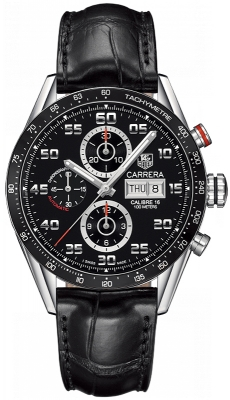 Tag Heuer Carrera Day Date Automatic Chronograph 43mm cv2a1r.fc6235