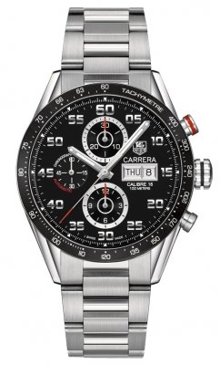Tag Heuer Carrera Day Date Automatic Chronograph 43mm cv2a1r.ba0799