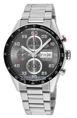 Tag Heuer Carrera Day Date Automatic Chronograph 43mm cv2a1u.ba0738
