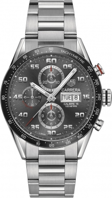 Tag Heuer Carrera Day Date Automatic Chronograph 43mm cv2a1u.ba0738